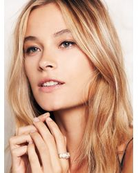 Free People | Metallic Millie Savage Womens Big Princess Ring | Lyst