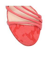 Vince Camuto | Pink Tiernan High Heel Strappy Sandals | Lyst