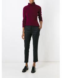 Etro - Purple Turtleneck Sweater - Lyst