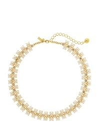 kate spade new york - Natural Twinkling Fete Collar Necklace - Lyst