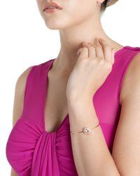 Ted Baker | Metallic Fine Crystal Bracelet | Lyst