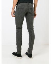 Diesel Black Gold - Black 'type 255' Skinny Jeans for Men - Lyst