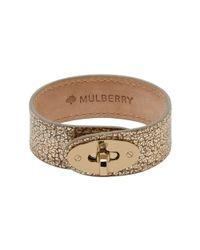 Mulberry - Metallic Bayswater Bracelet - Lyst