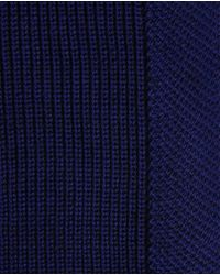Ted Baker | Blue Half Cardigan Stitch Scarf for Men | Lyst