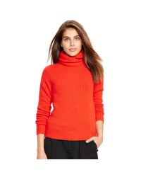 Polo Ralph Lauren | Red Wool-cashmere Sweater | Lyst
