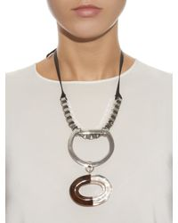 Sportmax | Metallic Laura Necklace | Lyst