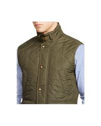 Polo Ralph Lauren - Green Quilted Vest for Men - Lyst