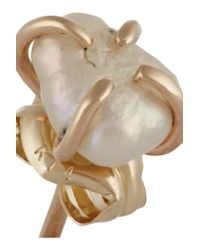 Melissa Joy Manning - Metallic 14-karat Gold Pearl Earrings - Lyst