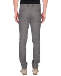 Incotex - Gray Casual Trouser for Men - Lyst