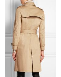 JOSEPH | Natural Townsend Cotton-Twill Trench Coat | Lyst
