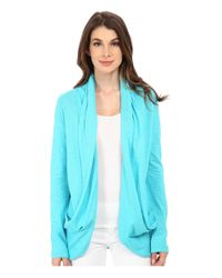 Lilly Pulitzer | Blue Leslie Cardigan | Lyst