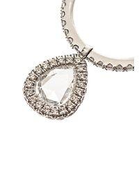 NSR Nina Runsdorf | Metallic Diamond & White-Gold Flip Ring | Lyst