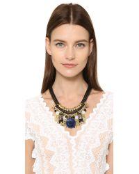 Holst + Lee - Multicolor Singapore Stone Necklace - Lyst