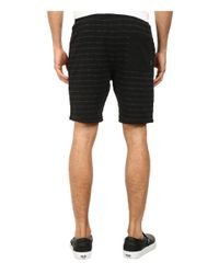 Billabong | Black Hudson Stripe Short for Men | Lyst