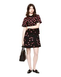 kate spade new york - Black Falling Florals Sweater - Lyst