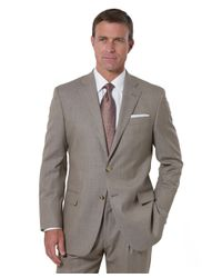 Brooks Brothers | Brown Madison Saxxon Pin Dot 1818 Suit for Men | Lyst