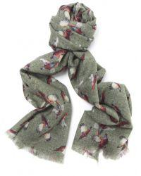 Jules B - Green Wool Pheasant Scarf for Men - Lyst