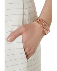 Arme De L'Amour | Metallic Rose Gold-plated Cuff | Lyst