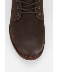 BDG - Brown Lace-up Leather Ankle Boot - Lyst