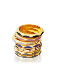 Astley Clarke - Metallic Heather Bloom Faceted Ring - Lyst