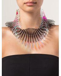 Sarah Angold Studio - Metallic 'Dragon Duplice' Necklace - Lyst