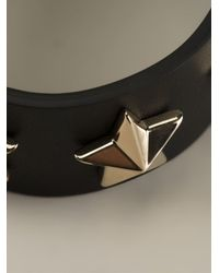 Givenchy | Black Star Embossed Bracelet | Lyst