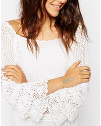 ASOS - Metallic Filigree Hand Harness - Lyst