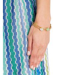 Ashiana | Green Mia 22Kt Gold-Plated Bracelet | Lyst