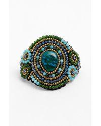 Panacea | Green Amazonite & Quartz Bracelet | Lyst