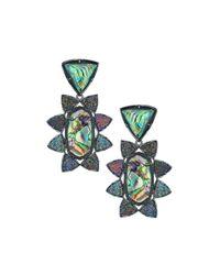 Kendra Scott | Multicolor Auden Cabana Earrings | Lyst