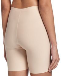 Spanx - Natural Thinstincts Targeted Short Thigh Shaper - Lyst