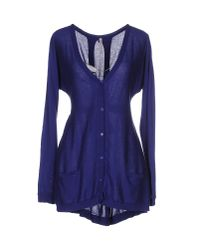 Scee By Twin-set | Blue Cardigan | Lyst