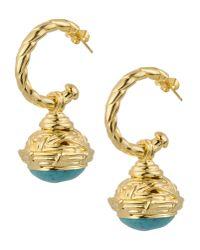 Gogo Philip | Blue Earrings | Lyst