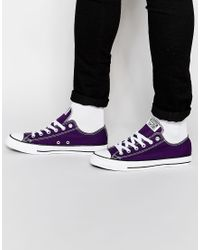 Converse | Purple Chuck Taylor All Star for Men | Lyst