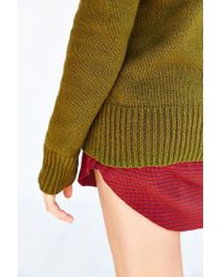 BDG - Green Boyfriend Sweater - Lyst