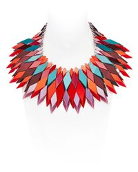 Silvia Rossi | Red Fire-sun Necklace | Lyst