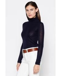 Joie | Blue Cenelle Turtleneck | Lyst