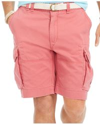 Polo Ralph Lauren | Red Big And Tall Classic-fit Cargo Short for Men | Lyst