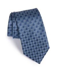 Brioni | Blue Silk Tie for Men | Lyst