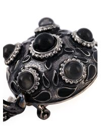 DSquared² - Black Embellished Earrings - Lyst