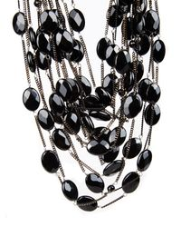 Rosantica By Michela Panero - Black Sacramento Onyx Necklace - Lyst