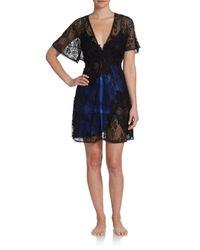 Jonquil - Blue Lace Wrap - Lyst