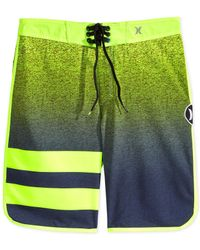 Hurley | Green Phantom Flight 2 Board Shorts for Men | Lyst
