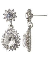 John Lewis | Metallic Statement Double Drop Earrings | Lyst