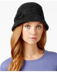 Nine West | Black Angora Cloche | Lyst