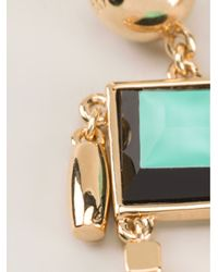 Marc By Marc Jacobs | Green Robot Earrings | Lyst