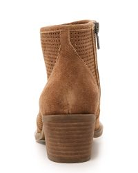 Steven by Steve Madden - Brown Daly Western Booties - Lyst