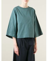 Societe Anonyme - Blue Boxy Blouse - Lyst