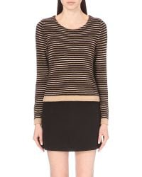 Claudie Pierlot | Black Maritim Striped Jumper | Lyst