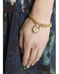 Marc By Marc Jacobs | Metallic Floating Charms Gold Tone Bracelet | Lyst